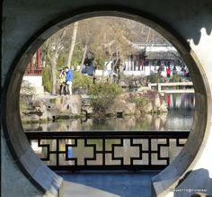Garden arch @ Suzhou, China