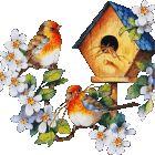 dreamies.de (k3x20865gz1.gif) Gif Animated Images, Morning Memes, Gifs, Bird Gif, Flowers Gif, Disney Wallpaper, Vintage Roses, Love Birds, Daydream