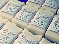 cute bridal shower soap wrappers