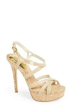 MICHAEL Michael Kors 'Cicely' Platform Sandal (Women) available at #Nordstrom