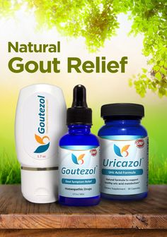 Natural Gout Relief: Goutezol: Natural Relief for Gout