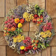 I love the Farmers' Market Herb Wreath on Williams-Sonoma.com  Can't it go on sale?