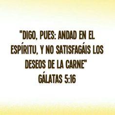 Gálatas 5 : 16