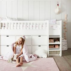 Classic Mid Sleeper Bed | Beds | Furniture | Home | The White Company UK