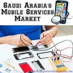 #Saudi Arabia's #MobileServices Market