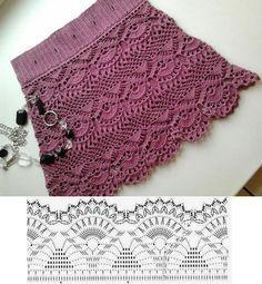Pollera - Crochet                                                                                                                                                     Más