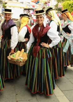 Spain, Canary Islands, Tenerife, Los Realejos, festival,