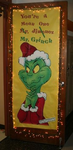 Grinch Christmas Door Decorating Contest | Story image 3_1