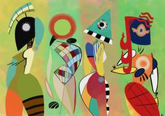 Las Musas De Kandinsky por ClassyChassiss