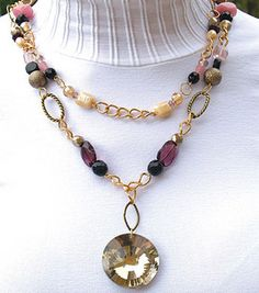 Layered Necklace: Jewelry & Bead Projects: Shop | Joann.com