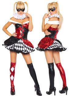 Sexy Clown Jester Costume Price: $89.99