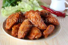 Куриные крылышки баффало Chicken Wings, Meat, Food, Essen, Yemek, Meals