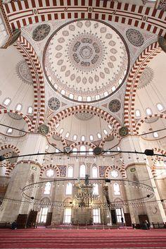 Şehzade Mosque Interior by AJ Brustein, via Flickr ~ Istanbul
