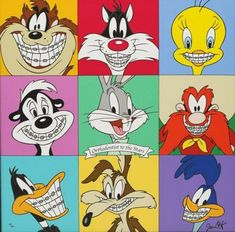 Even cartoon characters get overbites! From Amazing Animations pinned by www. Braces Humor, Dental Humor, Dental Hygienist, Kids Braces, Dental Braces, Dental Kids, Dental Art, Looney Tunes, Orthodontic Humor