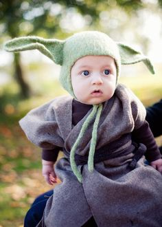 baby yoda costume- when BIL had a kid this will be perfect.