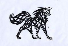 Celtic Wolf Tribal by ~ShadowWolfSayaren on deviantART