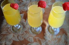Clementine-Ginger Mimosas. Check out how2heroes for the scoop on how to make these brunch favorites.