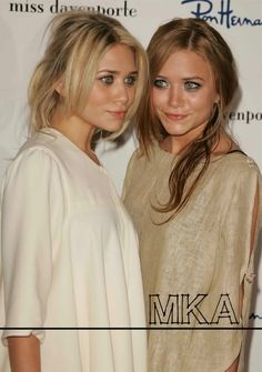 Hair and beauty inspiration from Mary-Kate and Ashley Olsen. #style #fashion #olsentwins