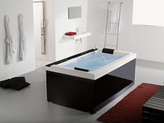 Tubs for Two   High-Tech Luxury Spa Tubs – Pacific from Systempool   DigsDigs