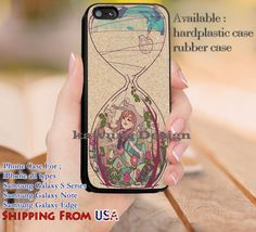 Hourglass - ZiF, Hourglass Frozen iPhone 6s 6 6s  5c 5s Cases Samsung Galaxy s5 s6 Edge  NOTE 5 4 3 #cartoon #disney #animated  #frozen dl10