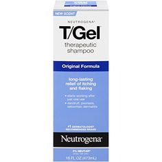 Neutrogena T/Gel Therapeutic Shampoo Original Formula, Anti-Dandruff Treatment for Long-Lasting Relief of Itching and Flaking Scalp as a Result of Psoriasis and Seborrheic Dermatitis, 16 fl. Best Shampoo For Psoriasis, Best Cream For Eczema, What Is Psoriasis, Psoriasis Disease, Severe Psoriasis, Psoriasis Scalp, Psoriasis Arthritis, Education