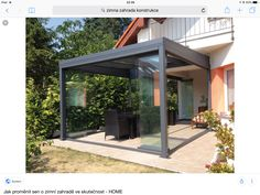 Conservatory, Pergola, Outdoor Structures, Garden, Houses, Dreams, Gardens, Architecture, Homes