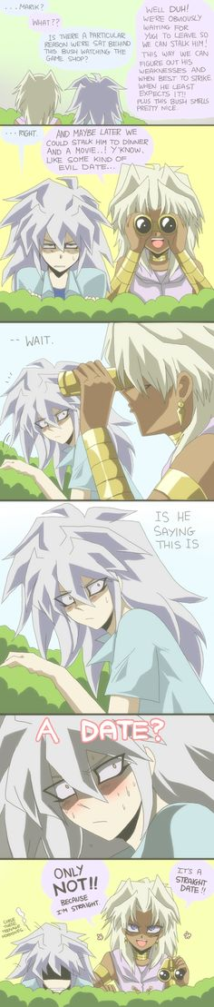 I just love Yu-gi-oh!!!! And these guys are not particular my OTP but it's honestly just funny and cute!!! :'3
