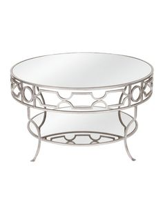 Ava Mirrored Coffee Table at Neiman Marcus.