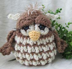 Ravelry: Simply Cute Owl Crochet Pattern pattern by Teri Crews