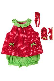 Gymboree strawberry outfit