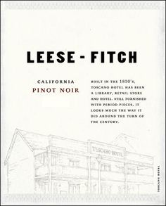 Leese Fitch - Pinot Noir 2009 $11.99