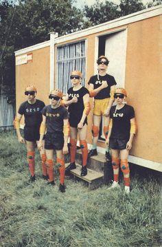 DEVO at Knebworth Rock Festival, Feeling Magazine, 1978