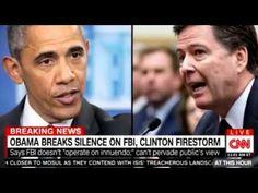 President Barack Obama breaks silence on FBI, Hillary Clinton firestorm ...