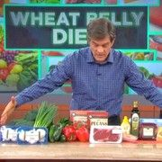 Dr. Oz: Wheat Belly Diet promotes rapid weight loss and melts belly fat