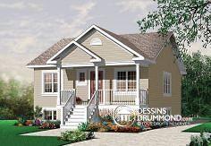 Plan de maison no. W3115 de DessinsDrummond.com