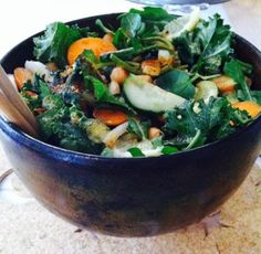 How to make a Buddha Bowl. A meal-sized bowl filled with simple pure food and enjoyed with deep gratitude.