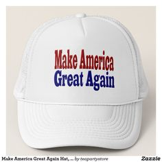 Make America Great Again Hat, red & blue #trump #trumptrain #maga #makeamericagreatagain