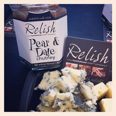 Pear & Date Chutney & Garstang Blue... Perfect cheese & chutney combo! #dewlay