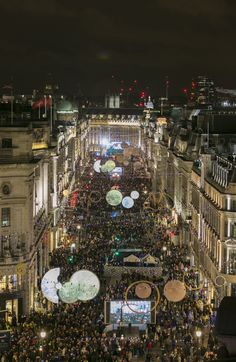 This year, Regent Street delivered a spectacular evening of entertainment to celebrate the switching-on of 'Timeless Elegance', the brand new Regent Street Christmas Lights, sponsored by Jo Malone London. Wow! Imagine shopping under these twinkling lights!
