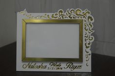 laser cut photo frame