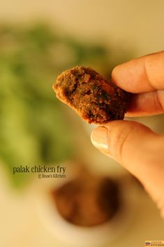 How to make Palak chicken fry recipe South Indian Chicken Recipes, Fried Chicken Recipes, Palak Chicken, Chicken Masala, Chaat Masala, Garam Masala, Garlic Paste, Quick Meals