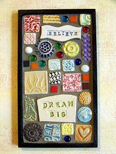 Something to do with clay test tiles.