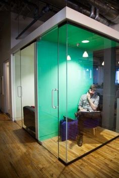 Image result for glass phone booths