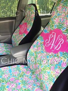 Sea Turtle Car Accessories Seat Covers for Vehicle Car Seat Covers Front Seat Covers Floo Monogram Swimming Turtles Car Mats Lilly Back Seat Custom Seat Covers, Back Seat Covers, Car Covers, Laura Car, Must Have Car Accessories, Turtle Car, Car Monogram, Seat Belt Buckle, Chair Photography