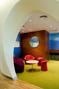 Zain's Colorful Bahrain Headquarters Offices