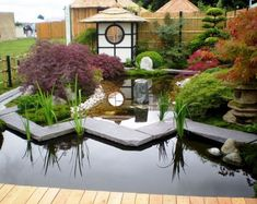 Inspiring small japanese garden design ideas 24 Perhaps it doesn't be as comfortable as what we always want basically since it is hard but it's one of […] Japanese Water Gardens, Small Japanese Garden, Japanese Garden Design, Japanese Style, Japanese Modern, Japanese Water Feature, Japanese Taste, Modern Asian, Garden Modern