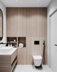 Baths Interior, Bathroom Interior Design, Modern Interior Design, Interior Architecture, Natural Bathroom, Modern Bathroom, Small Bathroom, Bad Inspiration, Bathroom Inspiration