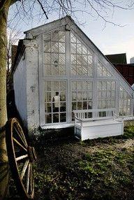 DIY greenhouse lean-to