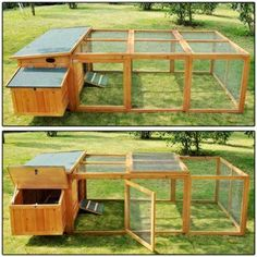 Building A DIY Chicken Coop If you've never had a flock of chickens and are considering it, then you might actually enjoy the process. It can be a lot of fun to raise chickens but good planning ahead of building your chicken coop w Cheap Chicken Coops, Portable Chicken Coop, Best Chicken Coop, Chicken Coop Plans, Building A Chicken Coop, Chicken Coop On Wheels, Chicken Pen, Chicken Coop Designs, Raising Chickens