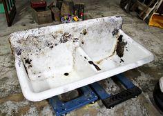 Antique Farmhouse Sink